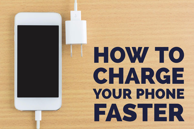 How to Charge Your Smartphone Faster