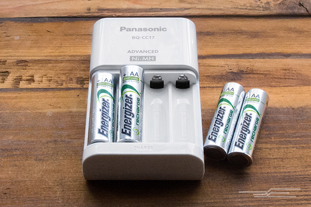 rechargeable battery charger, batteries