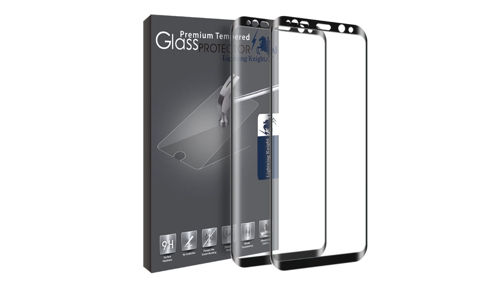 LK Galaxy S8/S8+ Tempered Glass Screen Protector