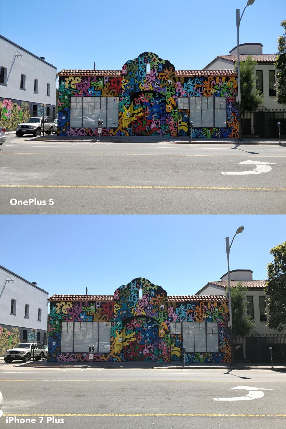 oneplus-5-cat-graffiti-compare