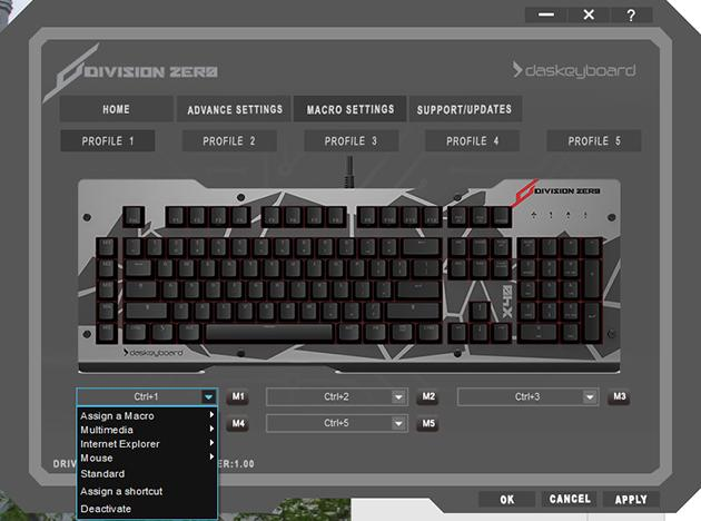 Division Zero X40 Pro Gaming Mechanical Keyboard: Driver