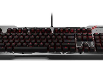 Division Zero X40 Pro Gaming Mechanical Keyboard: Front View